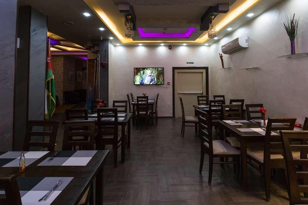 Comedor del hotel 7boys en Amman, Jordania