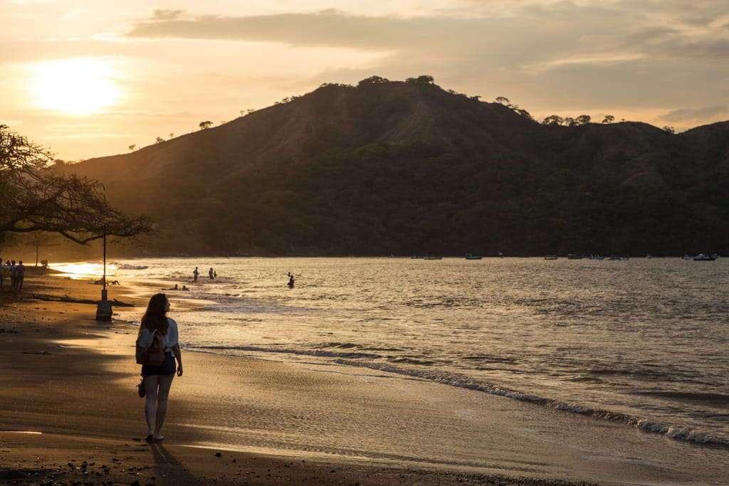 Atardecer en playas del Coco, Guanacaste, Costa Rica