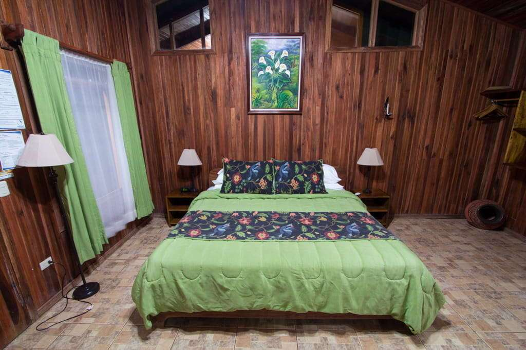 Habitación del Cloud Forest Lodge en Monteverde