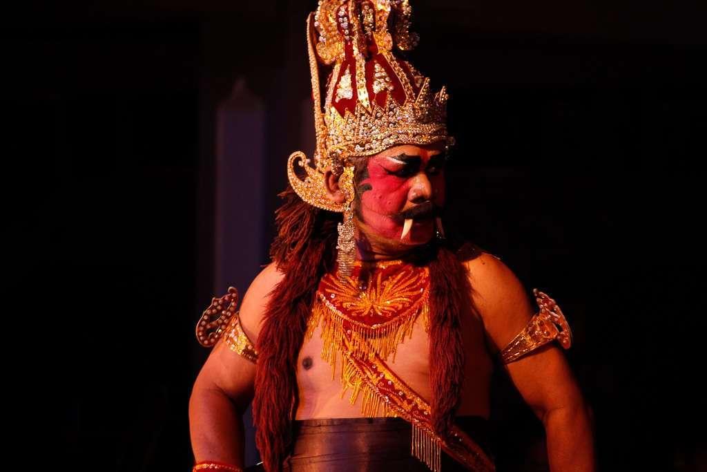 Actor de Ramayana Ballet Purawisata