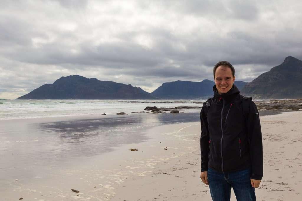 Paseando por Kommetjie Beach, Península del Cabo, Sudáfrica