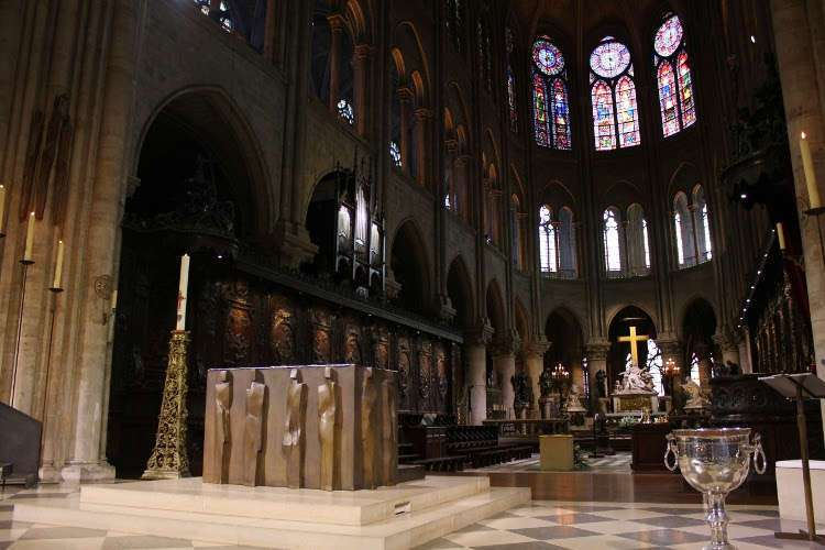 Altar de Notre Dame