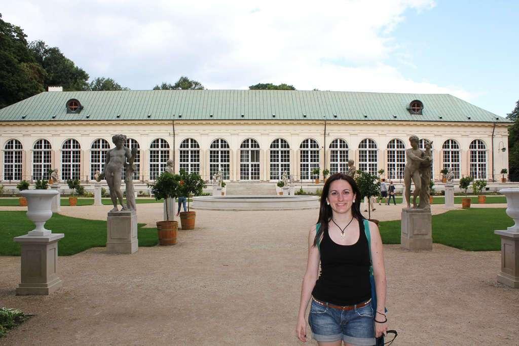 La Antigua Orangerie del Parque Łazienki