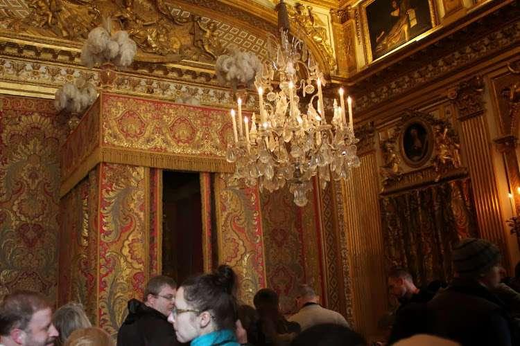 Aposentos del Rey del Palacio de Versalles