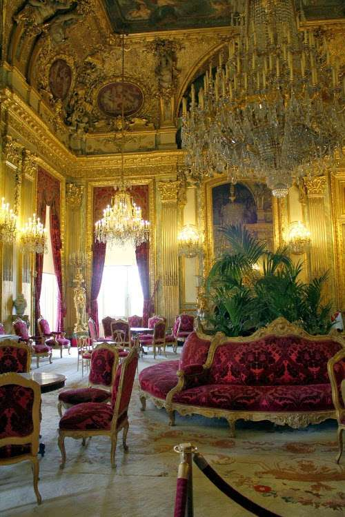Aposentos de Napoleón (El Louvre)