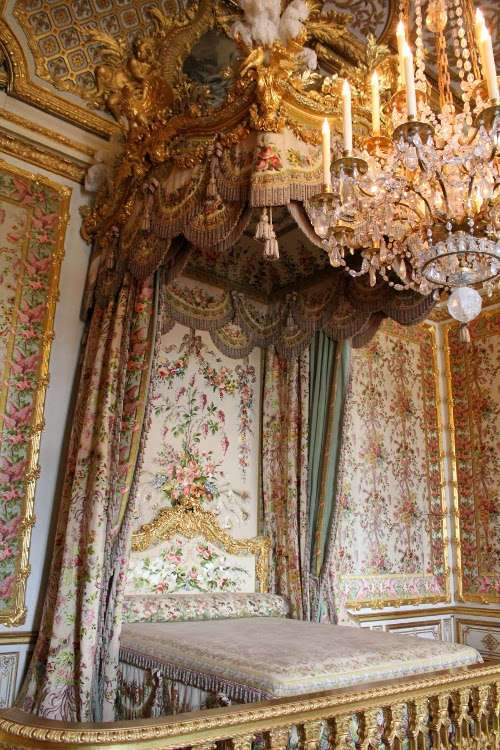 Aposentos de la Reina del Palacio de Versalles