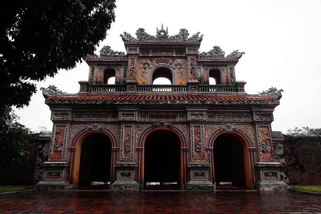 Ciudadela imperial de Hue, Vietnam