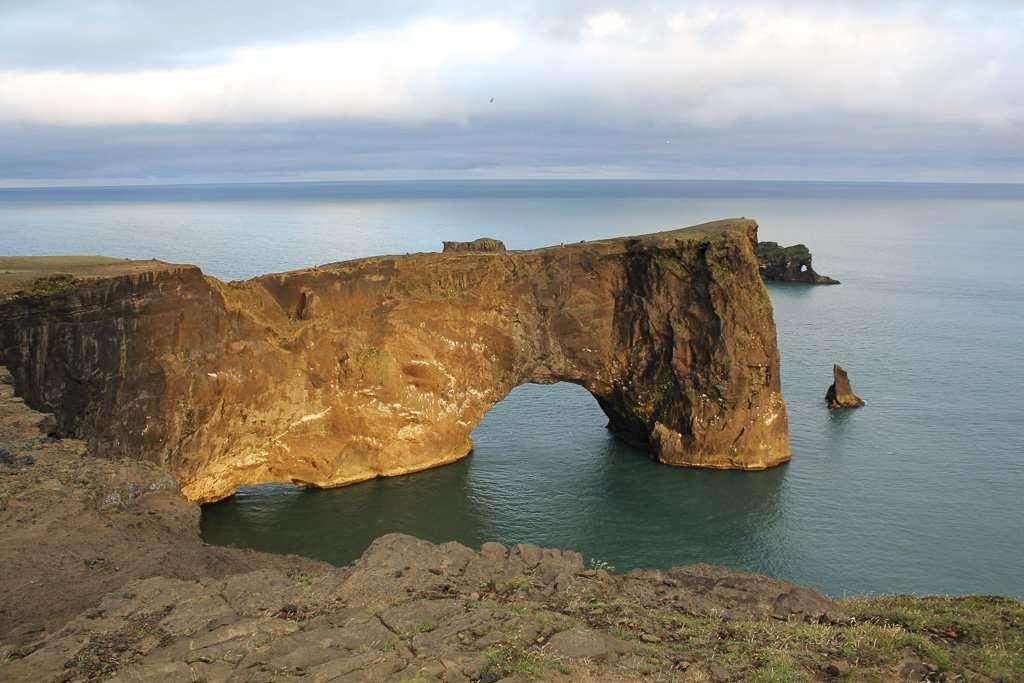 Arco de Dyrhólaey en Islandia