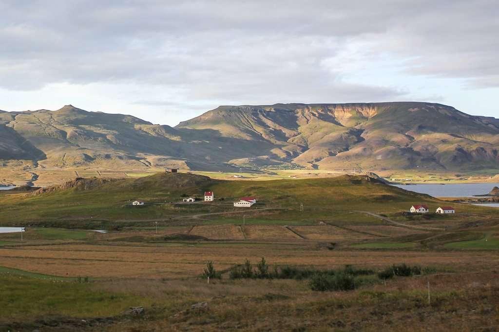 Casitas en oeste de Islandia