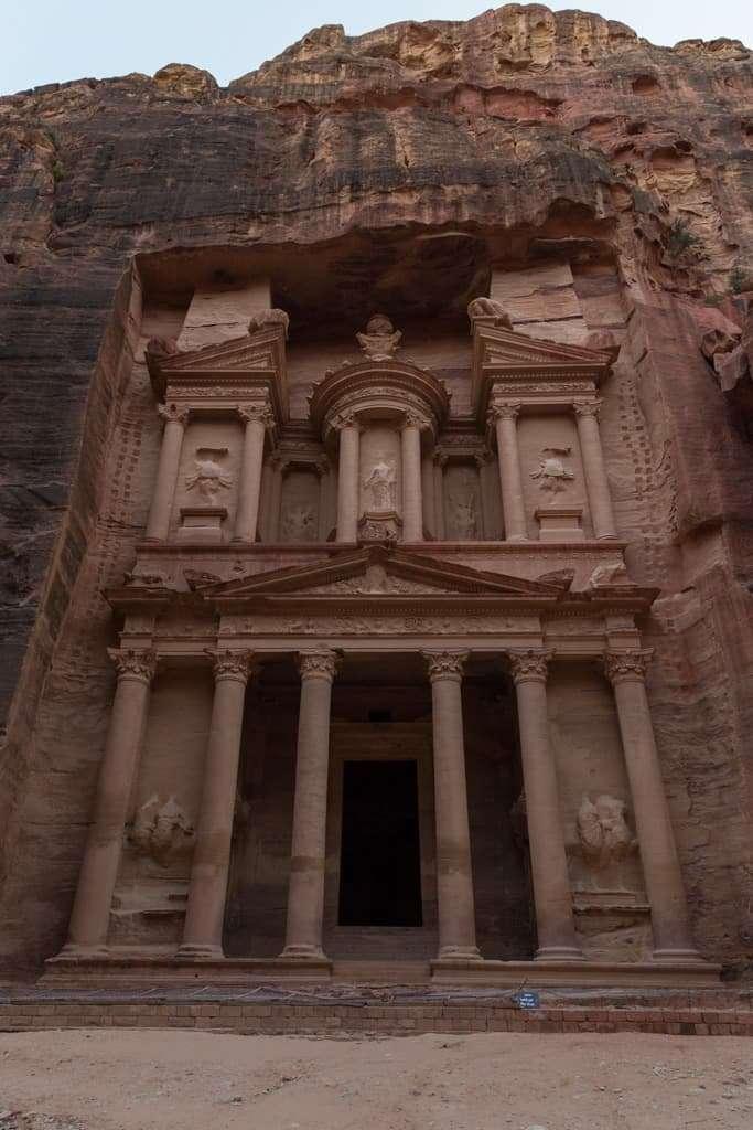 Atardecer en el Tesoro de Petra