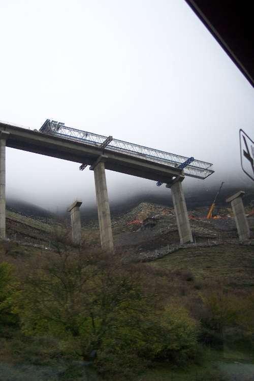 De camino a Santander (la autovía)