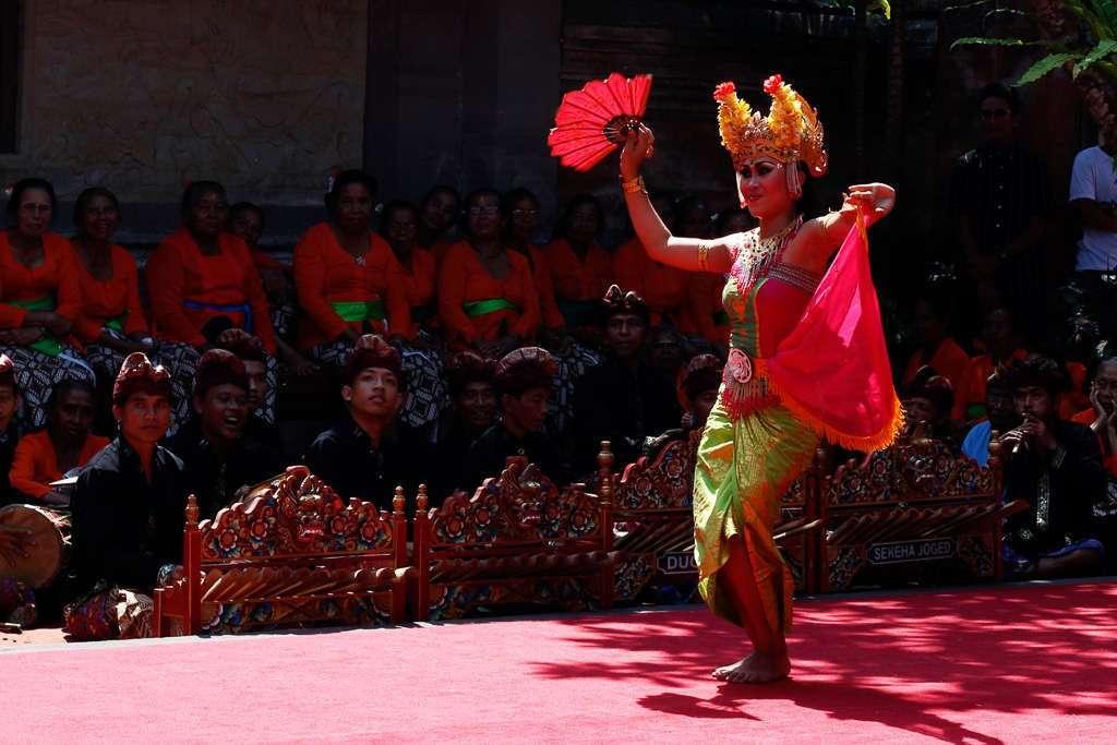 Bailarina en el Palacio de Ubud
