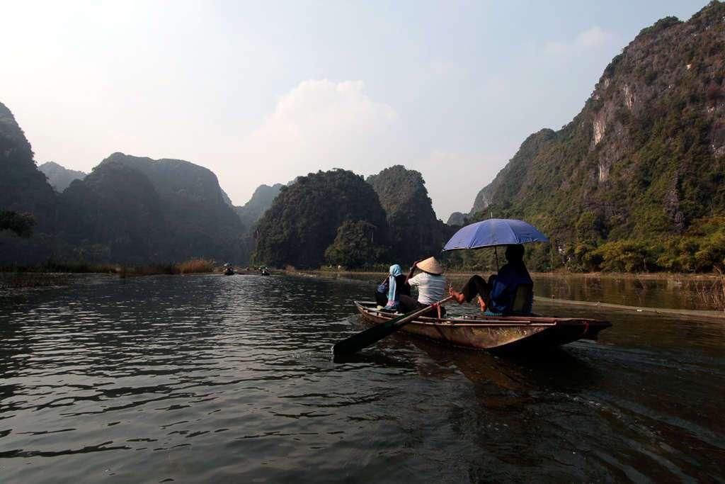 Navegando en Tam Coc