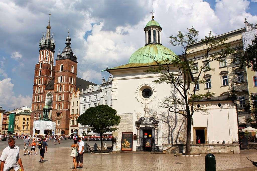 Basílica de Santa María e Iglesia San Adalberto (Cracovia)