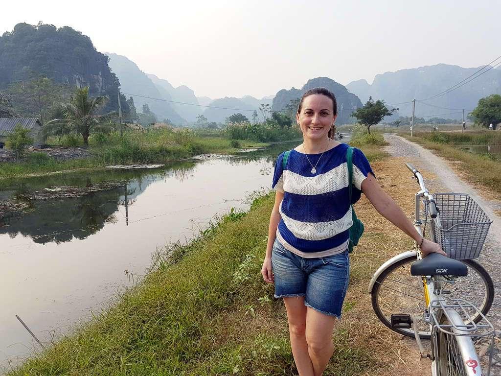 En bici por Tam Coc