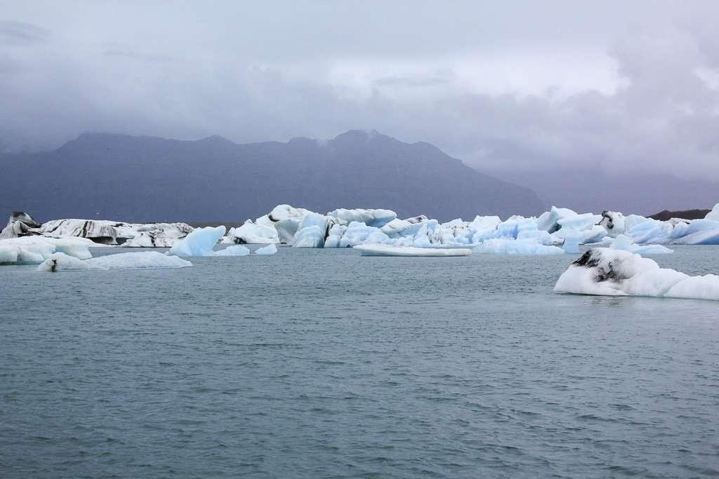 Bloques de hielo en Jökulsárlón