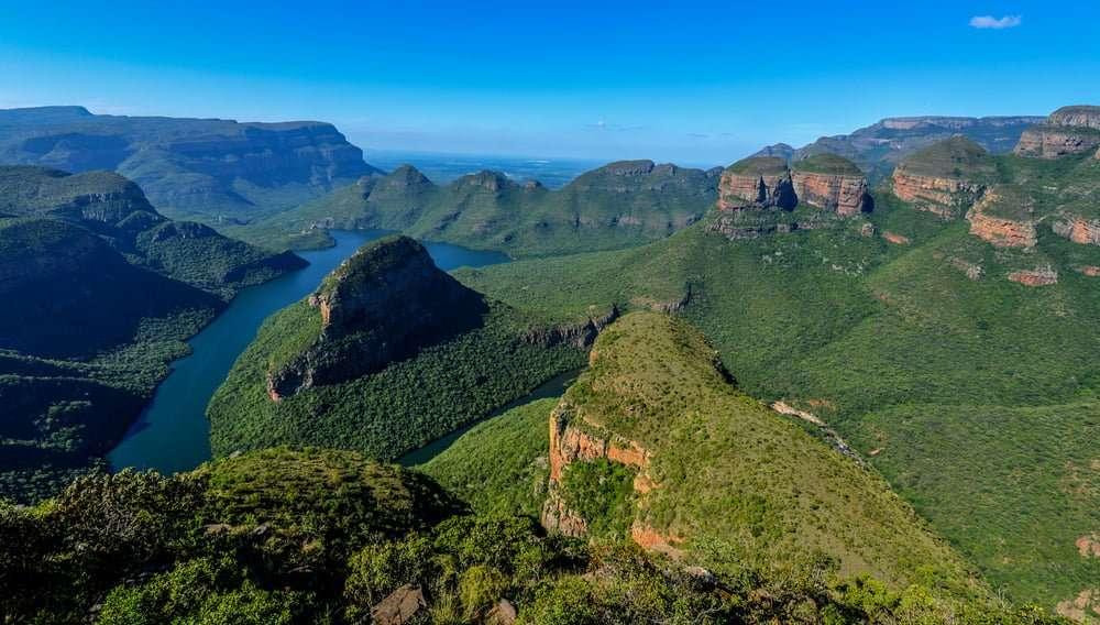 Blyde River Canyon en la Ruta Panorama, Sudáfrica