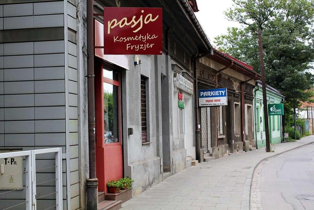 Calle de Podgórze, el gueto judío de Cracovia