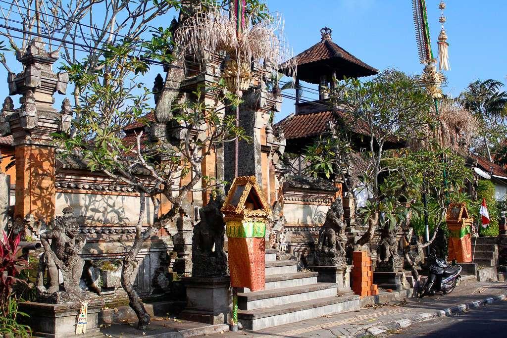 Una calle cualquiera en Ubud