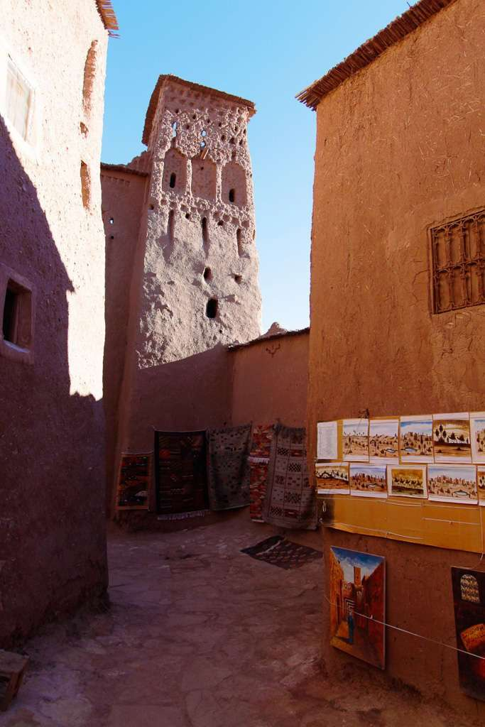 Calles de la Kasbah de Aït Ben Haddou