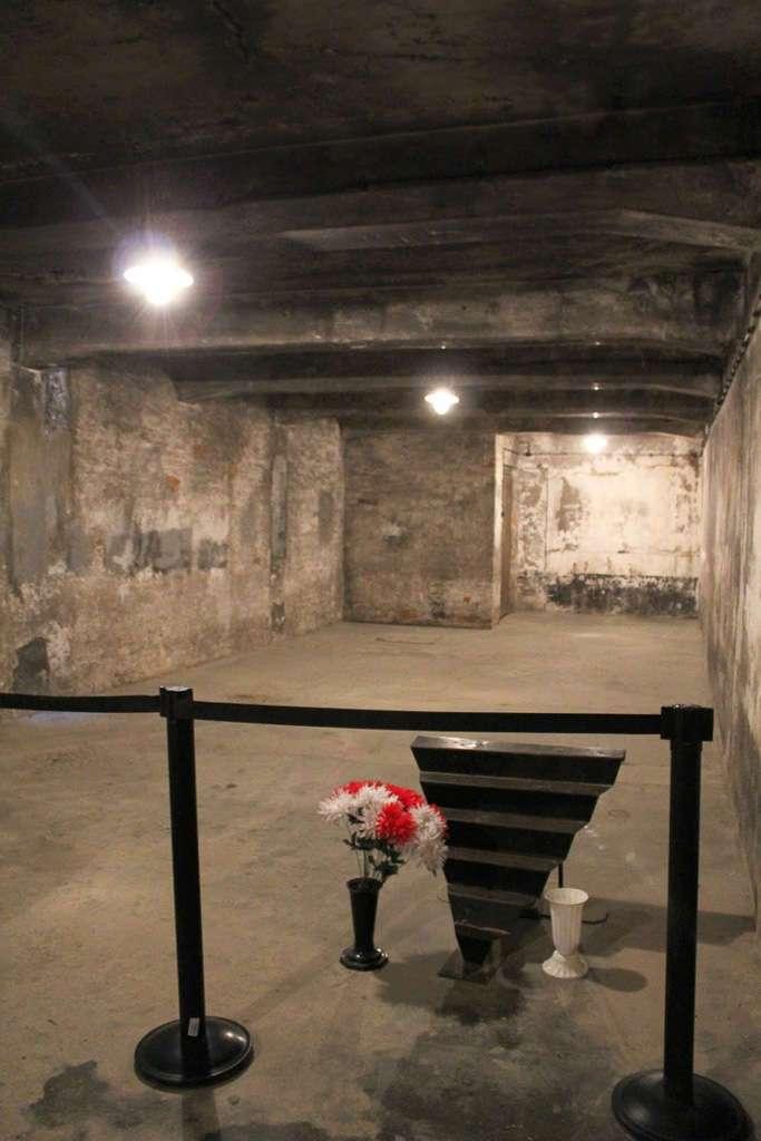 Cámara de gas de Auschwitz I