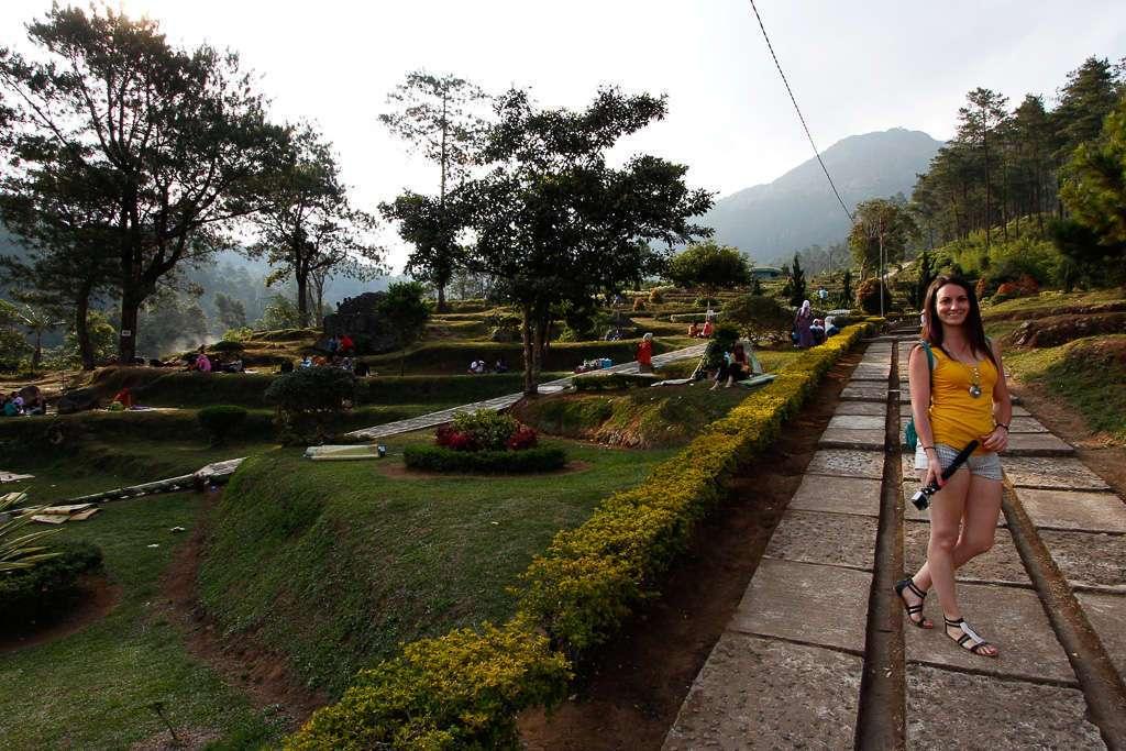 Un camino de Gedong Songo