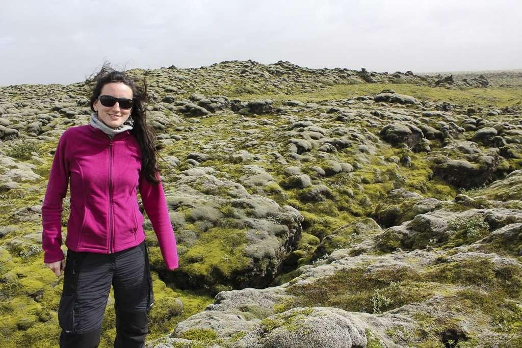 Campos de musgo en Islandia
