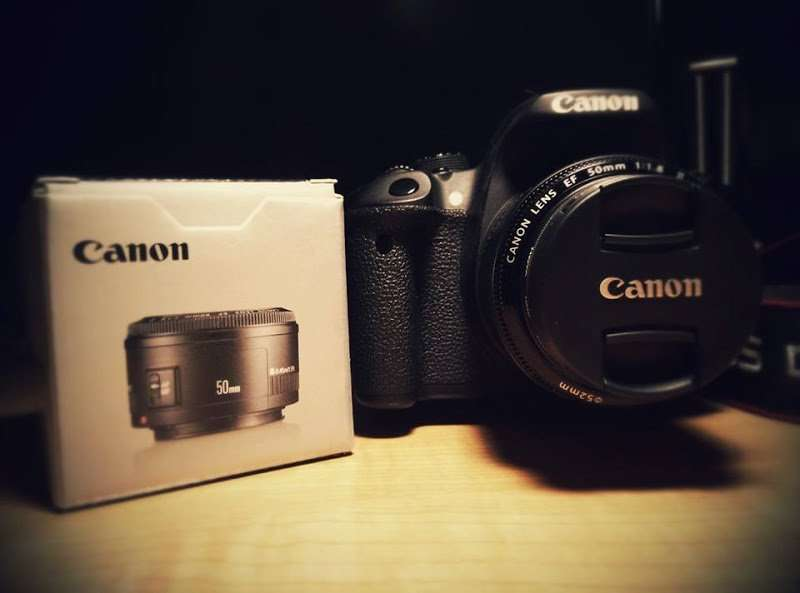 Objetivo Canon 50mm 1.8