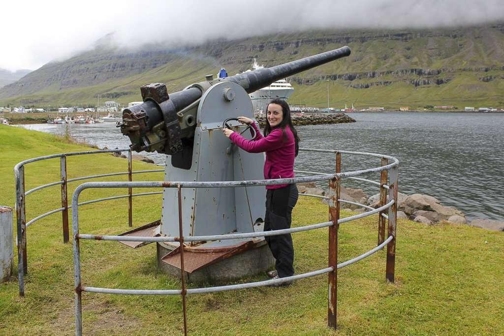 Cañón de El Grillo en Seyðisfjörður