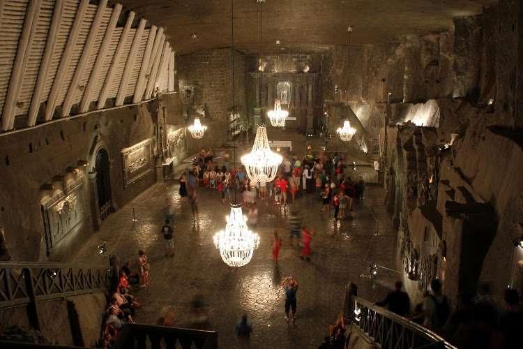 Capilla de St. Kinga (minas de sal de Wieliczka)