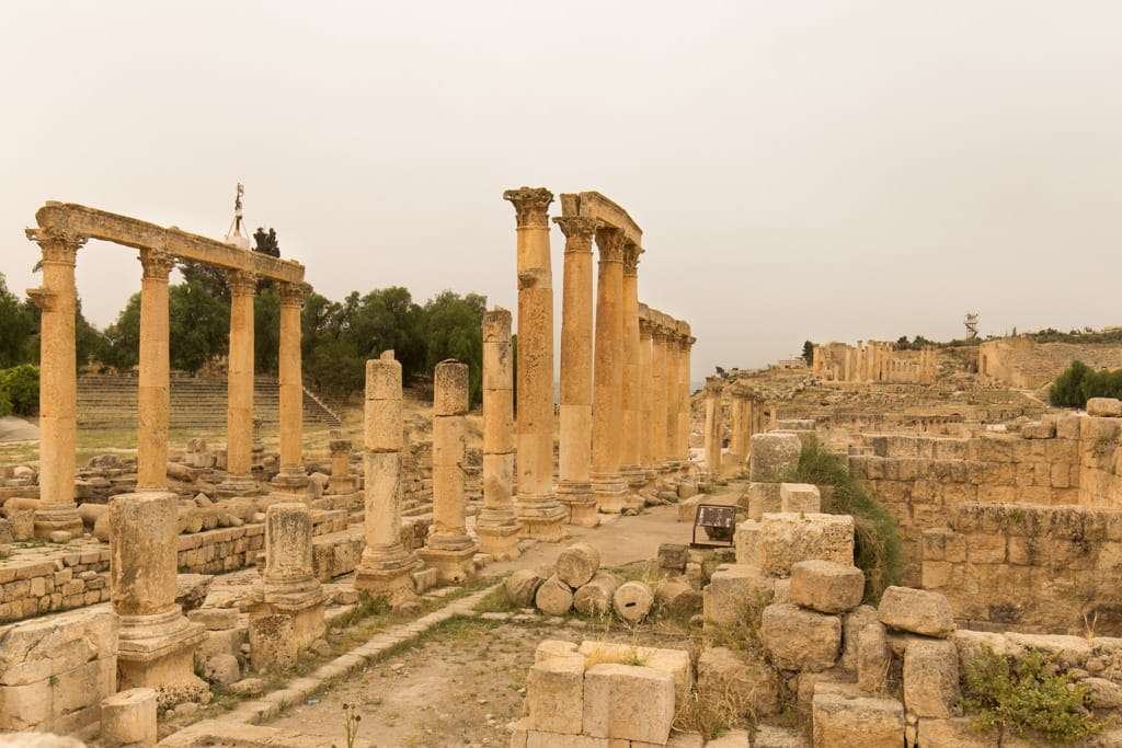 Cardo Máximo de Jerash