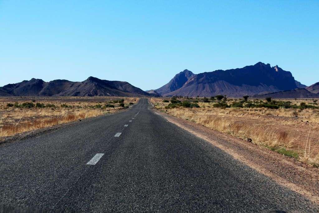 Carretera del sur de Marruecos
