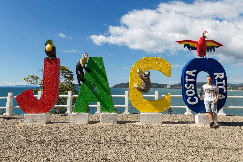 Cartel del mirador de Jaco, Costa Rica