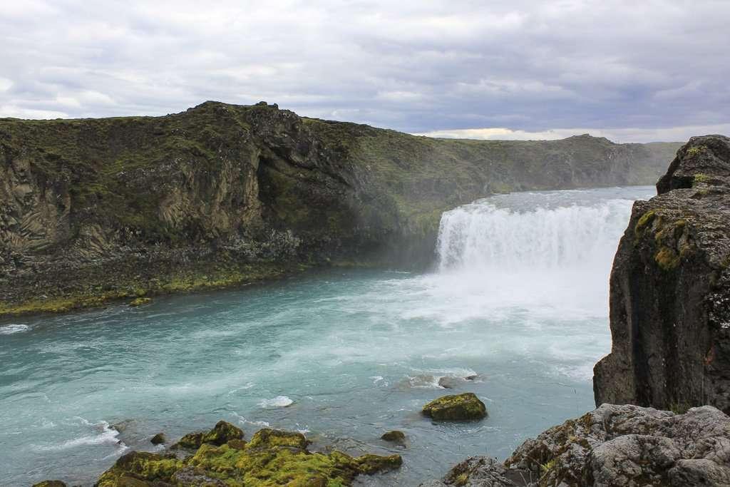 Geitafoss, la cascada cercana a Godafoss