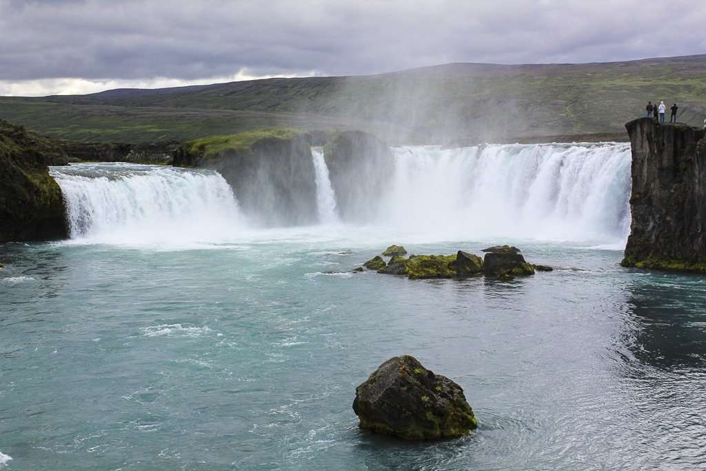 Goðafoss, la cascada de los dioses