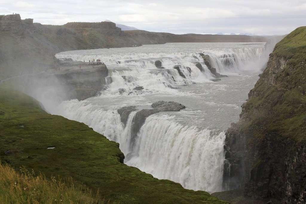 Gullfoss, una cascada con dos saltos de agua
