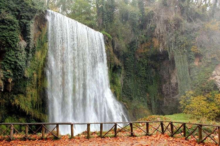 Cascada la Caprichosa (Monasterio de Piedra)