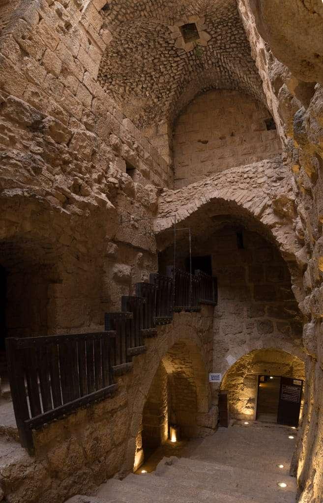 Escalera del Castillo de Ajlun