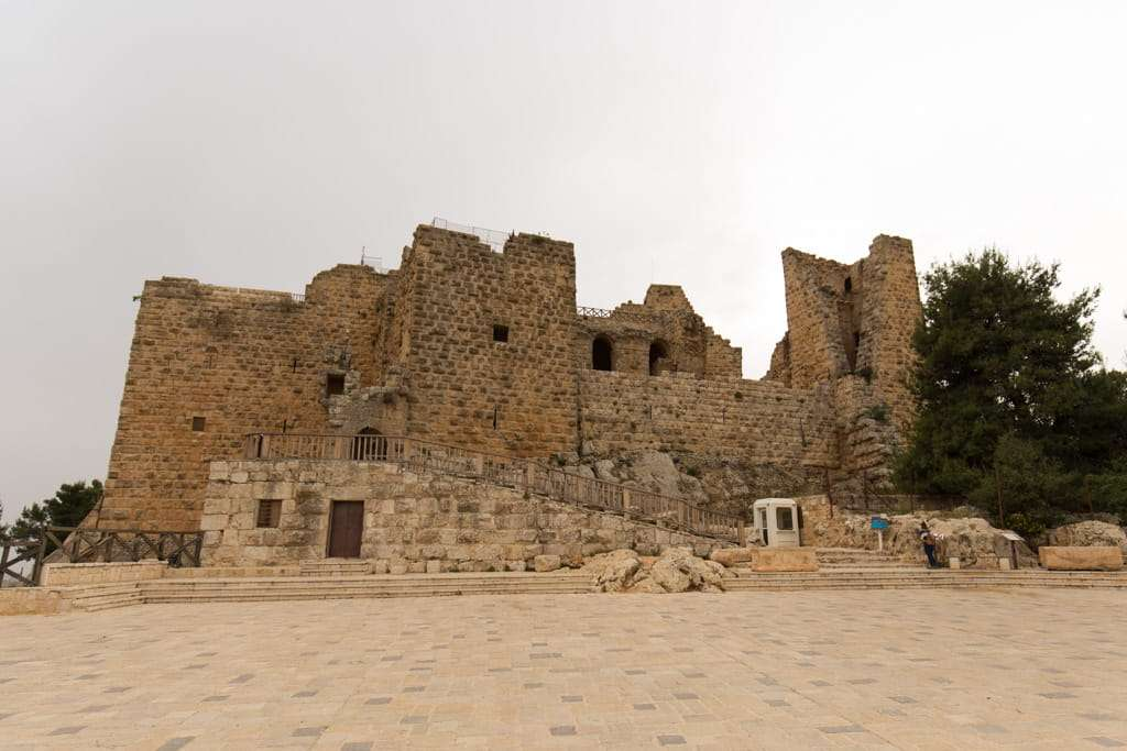 Castillo de Ajlun en Jordania