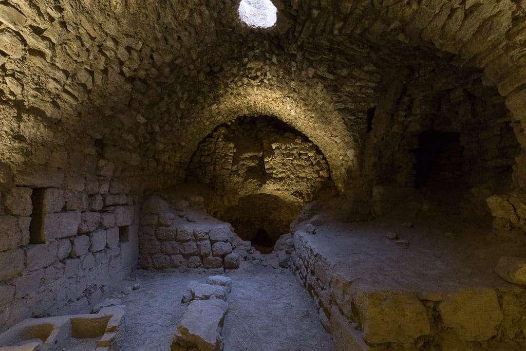 Salas del Castillo de Al-Karak, Jordania
