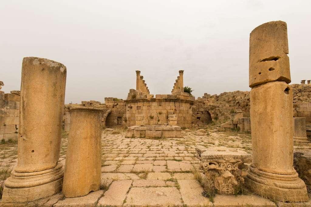 Ruinas de la Catedral de Jerash