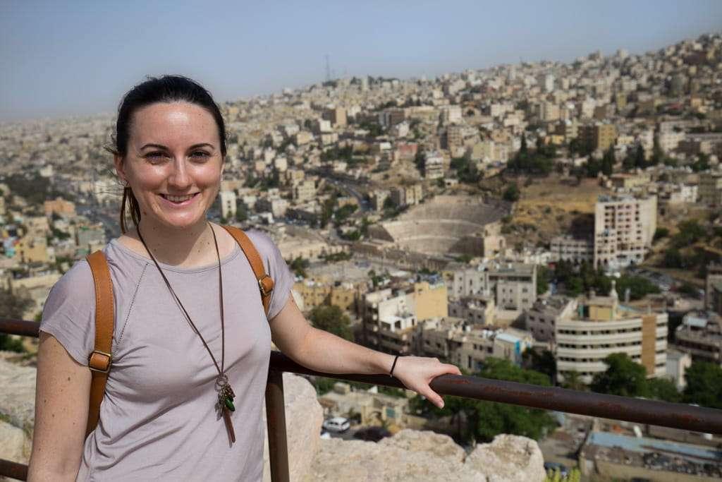 Vista de Amman desde la Ciudadela (Jordania)