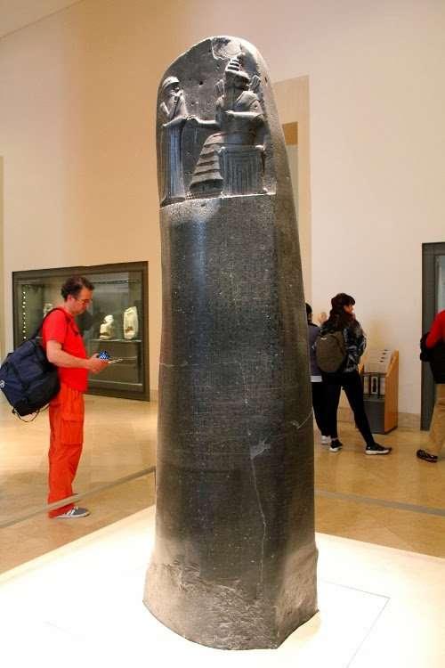 Código de Hammurabi (El Louvre)