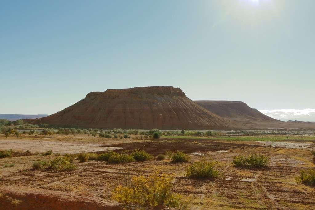 Colina en el sur de Marruecos