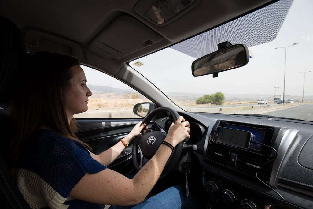 Conduciendo por Jordania