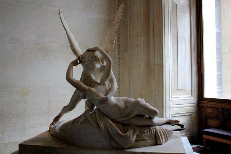 Cupido y Psique (El Louvre)
