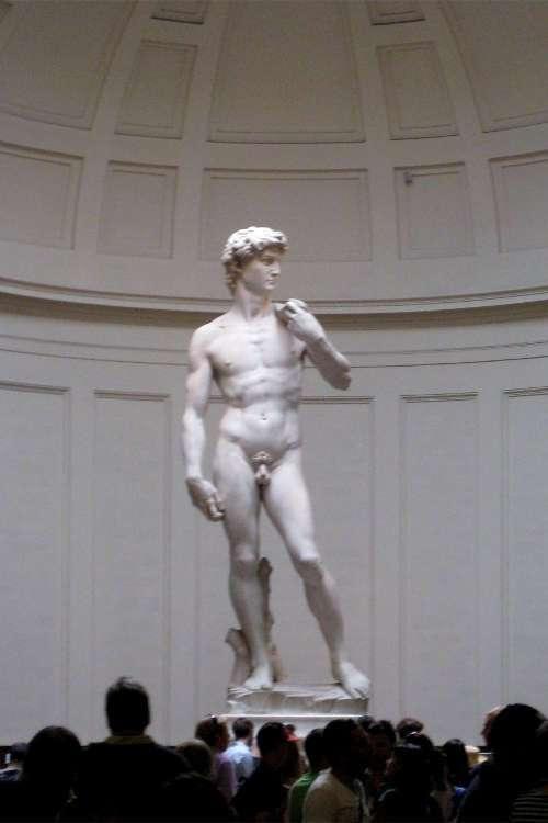 El David de Miguel Ángel (Florencia)