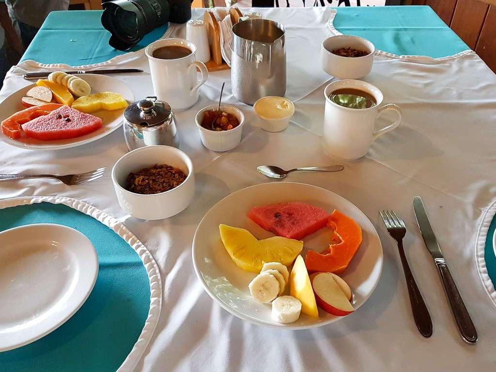 Desayuno del Cloud Forest Lodge