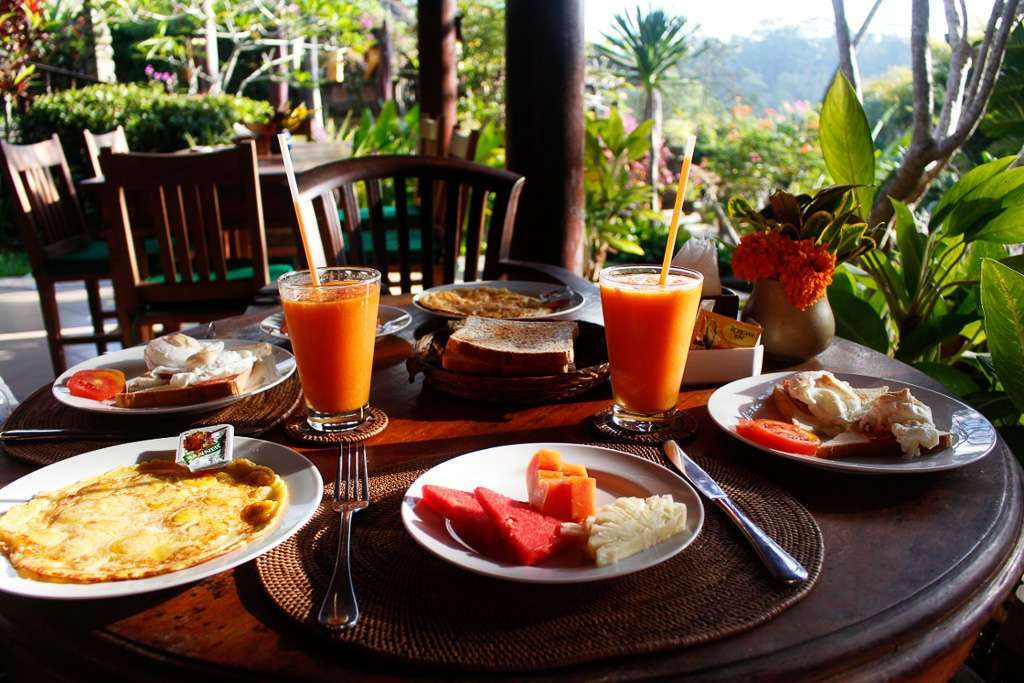 Desayunos del Bunga Permai (Ubud)