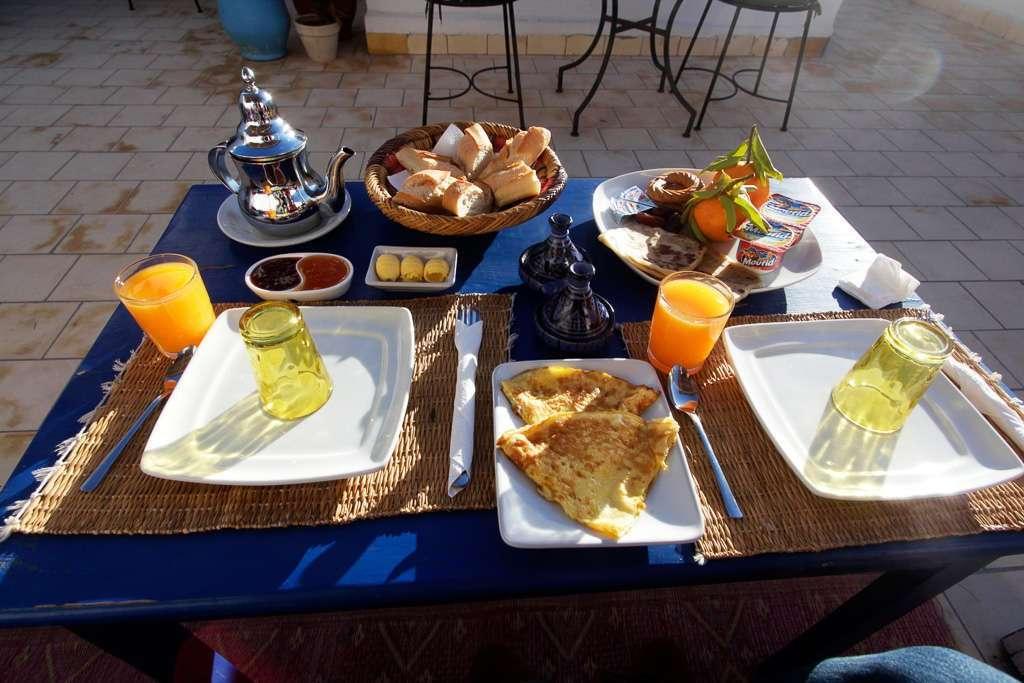 Desayuno en el riad Dar Sabon